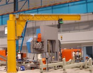 Jib Cranes Pillar Mounted