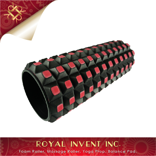 High Density Checkerboard Massage EVA Foam Roller Stick
