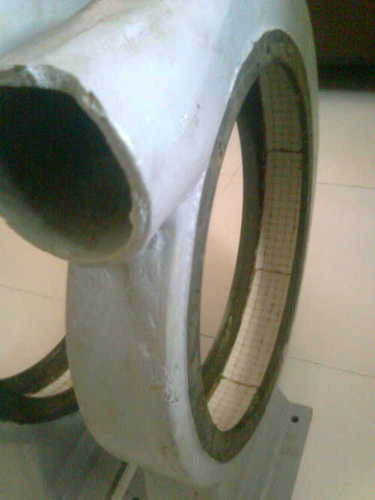 Blower Casing With Ceramic Liner