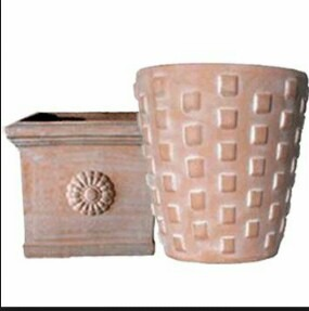 Almunium Flower Pot (C91) in  Maqbara