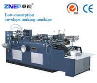 Semi Automatic Envelope Making Machine