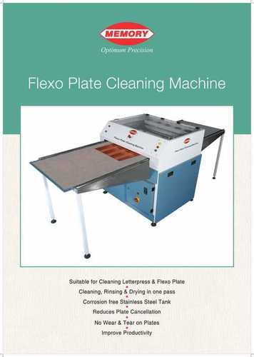 Flexo Plate Cleaning Machine in  Kirti Nagar