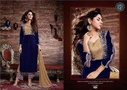 Velvet Pakistani Ladies Suits in  Bhatar