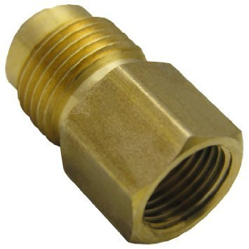 Brass Flare Adapter Reducing Coupling
