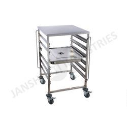 Food Tray Trolley