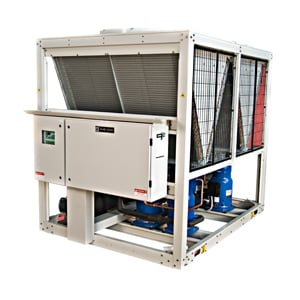 Air and Water Cooled Scroll Chillers R22 and R407C