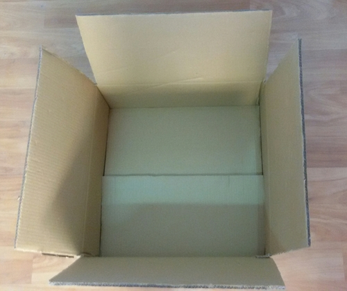 Packing Corrugated Boxes