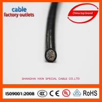 Flexible Copper Conductor, PVC Jacketed Electric Cable