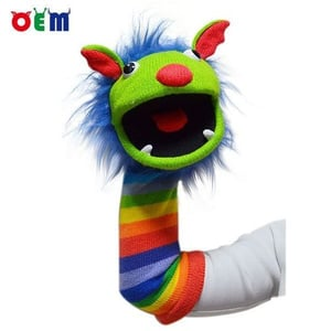 Knitted Hand Puppet