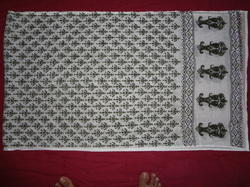 Hand Block Print Sarong Scarf