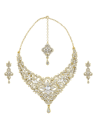 Antique Polki Necklaces in  Bhuleshwar
