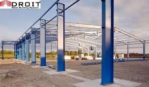 Industrial Steel Building Structure