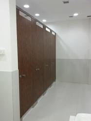 Anti Fungal Toilet Cubicle Partition Services