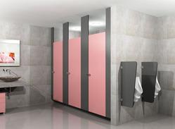Ceiling Hung Module Toilet Partition Services