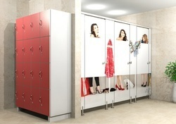 Designer Toilet Cubicle Partition Services