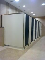 School Toilet Cubicle Partition Services