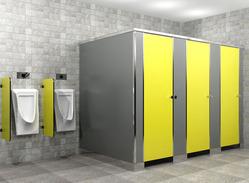 Shoe Box Module Toilet Partition Services