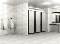 Top Hung Module Toilet Partition Services