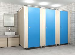 Zinc Alloy Module Toilet Partition Services