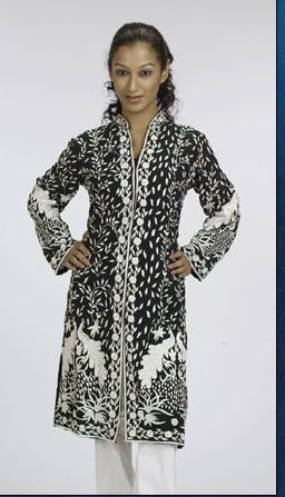 Black And White Women'S Coat in  Nariman Point
