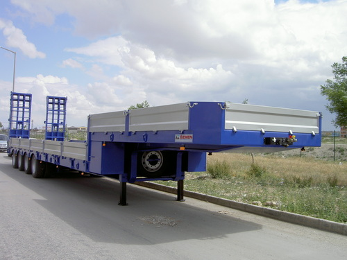 4 Axle Lowbed Semi Trailer (100 Tons Capacity)