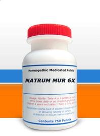 Natrum Muriaticum 6X