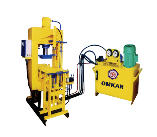 Vibro With High Pressure Paver Block Machine
