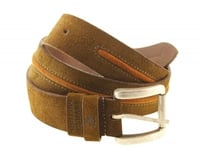Genuine Leather Suede Belt