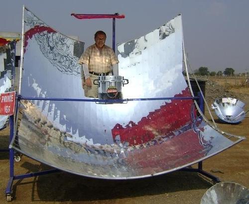 Solar Parabolic Community Cooker