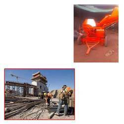 Hydraulic Type Mixer For Construction Site