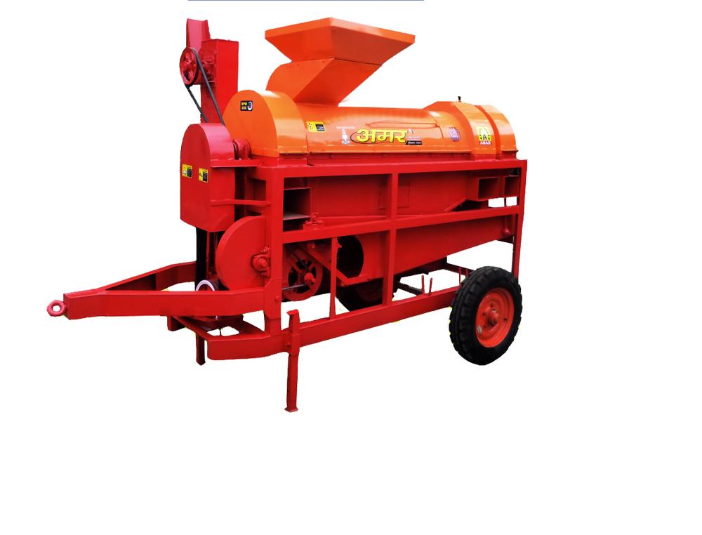 Corn Maize De Husker Tractor