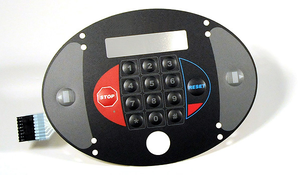 Fine Finish Membrane Keypad