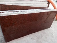 Ruby Red Granite Slab And Tiles