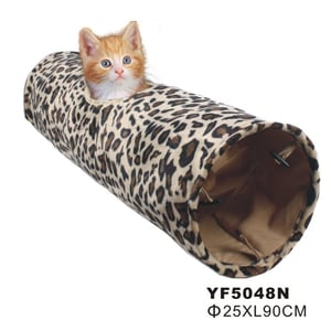 Cat Playing And Sleeping Tunnel