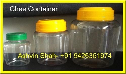 Plastic Pet Ghee Containers in Ahmedabad Gujarat Swastik industries