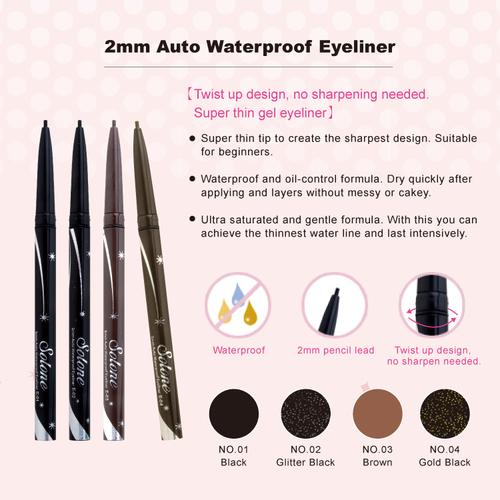 2mm Auto Waterproof Eyeliner