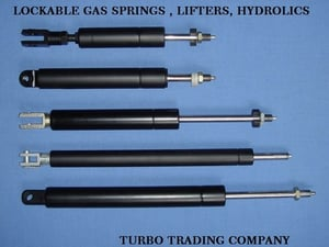 Hospital Surgical Bed Lockable Gas Springs
