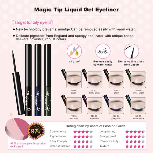 Magic Tip Liquid Gel Eyeliner