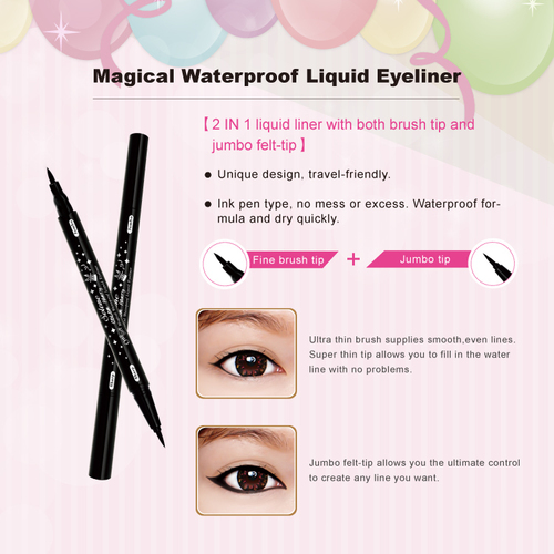 Magical Waterproof Liquid Eyeliner