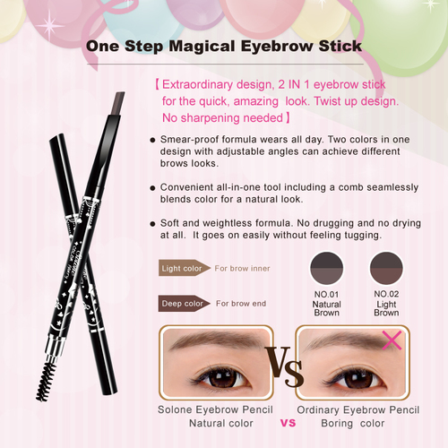 One Step Magical Eyebrow Stick