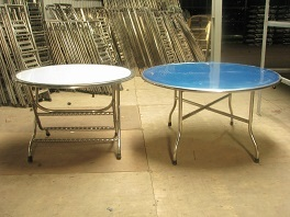 Stainless Steel Canteen And Banquet Dining Table