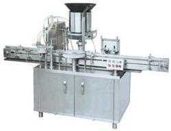 Automatic Four Head Liquid Filling Machine