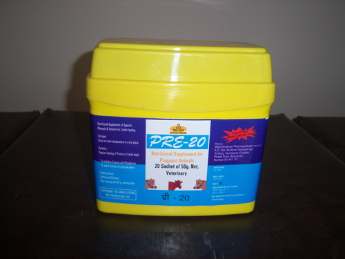 Pre-20 Veterinary Supplement