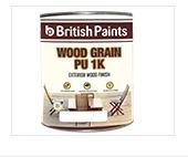 British Paints Wood Grain PU 1K
