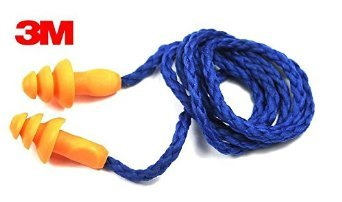 3m Reusable Corded Earplugs For Hearing Protection