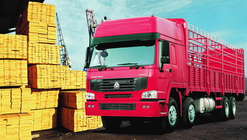 Sinotruk HOWO 8X4 ZZ1317M4661V Cargo Truck