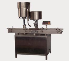 Automatic Single Vial Cap Sealing Machine