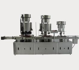 Automatic Six Head Screw Capping Machine