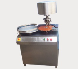 Semi Automatic Vial Cap Selling Machine With Turn Table