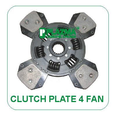 Tractors Clutch Plate 4 Fan